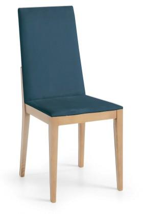 Jídelní židle Rabida  (dub/navara petrolejová)