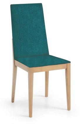 Jídelní židle Rabida  (dub/orion mořská zeleň)