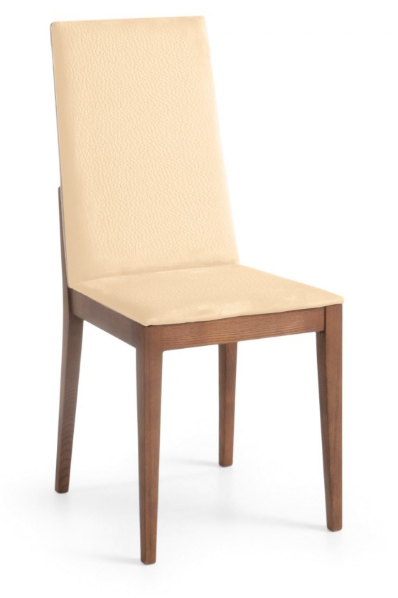 Jídelní židle Rabida  (jasan/eko kůže kaiman slonová kost)