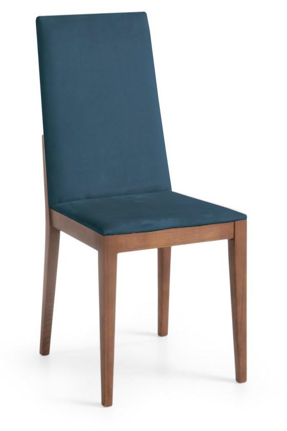 Jídelní židle Rabida  (jasan/navara petrolejová)