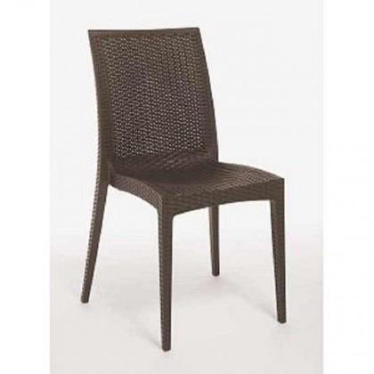Jídelní židle Rattan(antracite)