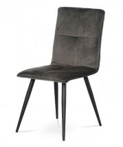 Jídelní židle Sanne šedá, černá