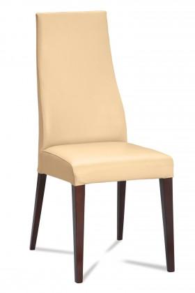Jídelní židle Semora (wenge/eko kůže kaiman slonová kost)