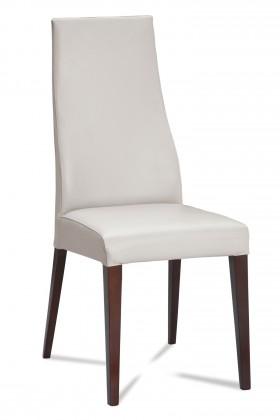 Jídelní židle Semora (wenge/eko kůže vienna bílá)