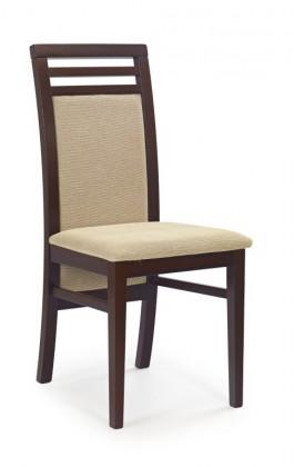 Jídelní židle Sylwek 4  (ořech/torent beige)