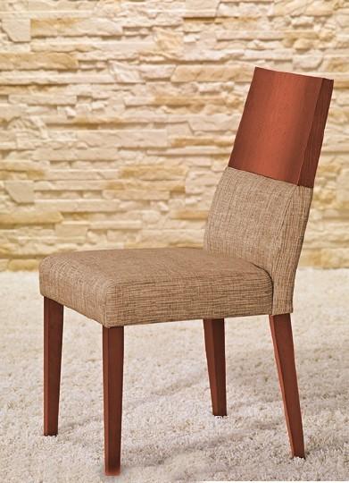 Jídelní židle Timoteo - Jídelní židle (třešeň/béžová)