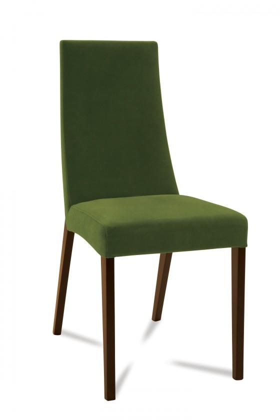 Jídelní židle Tortuga (jasan/látka carabu zelená)