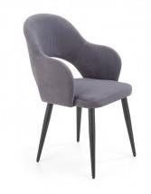 Jídelní židle Tunja šedá