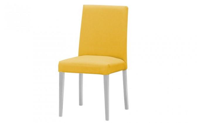 Jídelní židle Uno(bílá/carabu giallo 131)