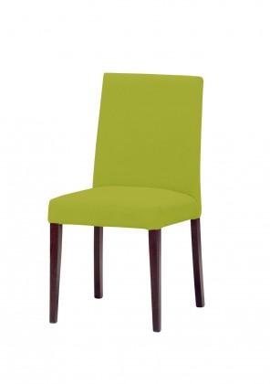 Jídelní židle Uno(tm.hnědá/carabu verde chiaro 96)