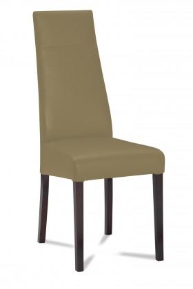 Jídelní židle Wolfa (wenge/eko kůže vienna hnědá)