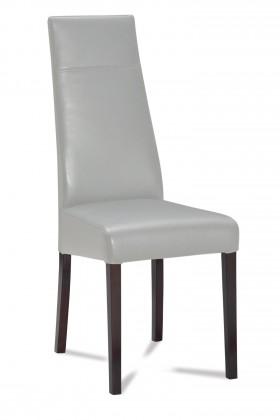 Jídelní židle Wolfa (wenge/eko kůže vienna šedá)