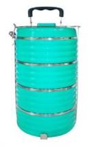 Jídlonosič Toro 261825, plastový, 4 patra, 23,8x16 cm