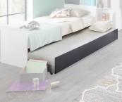 Joker - Přistýlka pod postel (bílá, antracit)