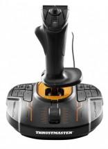 Joystick Thrustmaster T16000M FCS, černý/oranžový (PC)