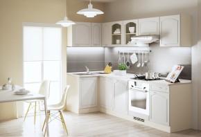 Julia - Kuchyně, 270x110 cm (vanilka, magnolie, písek)