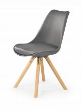 K201 - Jídelní židle (šedá, buk) - PŘEBALENO