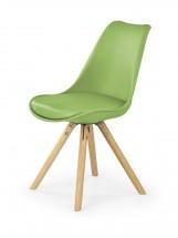 K201 - Jídelní židle (zelená, buk)
