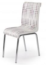 K261 - Jídelní židle (chrom, eko kůže)