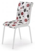 K263 - Jídelní židle (chrom, eko kůže)