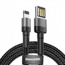 Kabel Baseus, Cafule SP, USB na Lightning, 2,4A, 1m, šedá/černá