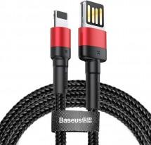 Kabel Baseus, Cafule, USB na Lightning, 2,4A, 1m, černá