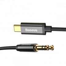 Kabel Baseus USB Typ C na 3,5mm Jack, 1,2m, černá