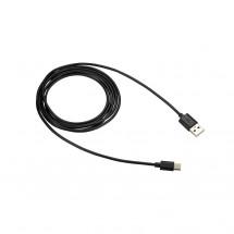Kabel Canyon USB Typ C na USB, 1,8m, černá