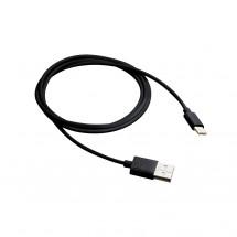 Kabel Canyon USB Typ C na USB, 1m, černá
