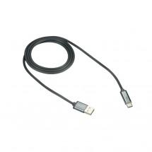 Kabel Canyon USB Typ C na USB, 1m, LED indikace nabíjení