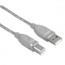 Kabel Hama 45023, 5m, pro propojení PC a tiskárny