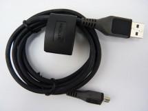 Kabel Micro USB na USB, 1,2m, černá