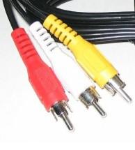 Kabel PremiumCord 3x CINCH-3x CINCH M/M 2m