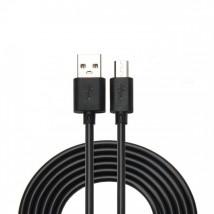 Kabel WG Micro USB na USB, prodloužený konektor, 1m, černá