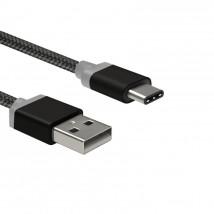Kabel WG USB Typ C na USB, 1m, černá