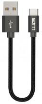 Kabel WG USB Typ C na USB, 20cm, černá