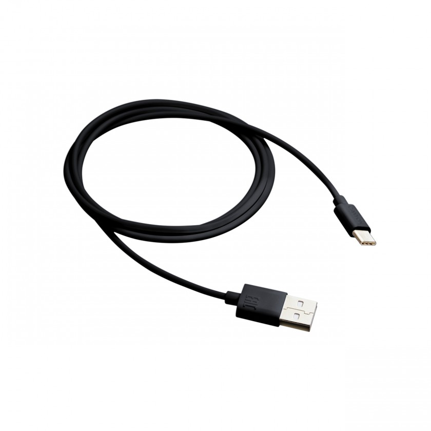 Kabely k telefonům a tabletům Kabel Canyon USB Typ C na USB, 1m, černá