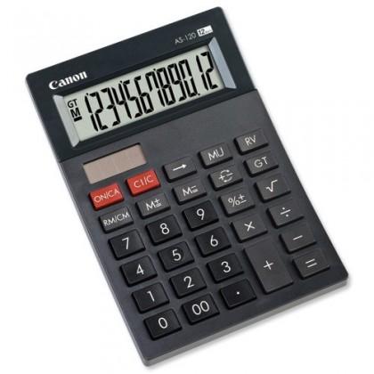 Kalkulačka Canon AS-120, černá