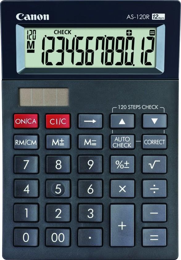Kalkulačka Canon AS-120R, černá