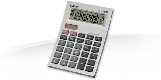 Kalkulačka Canon AS-120Ri, bílá