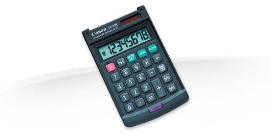 Kalkulačka Canon LS39E, černá