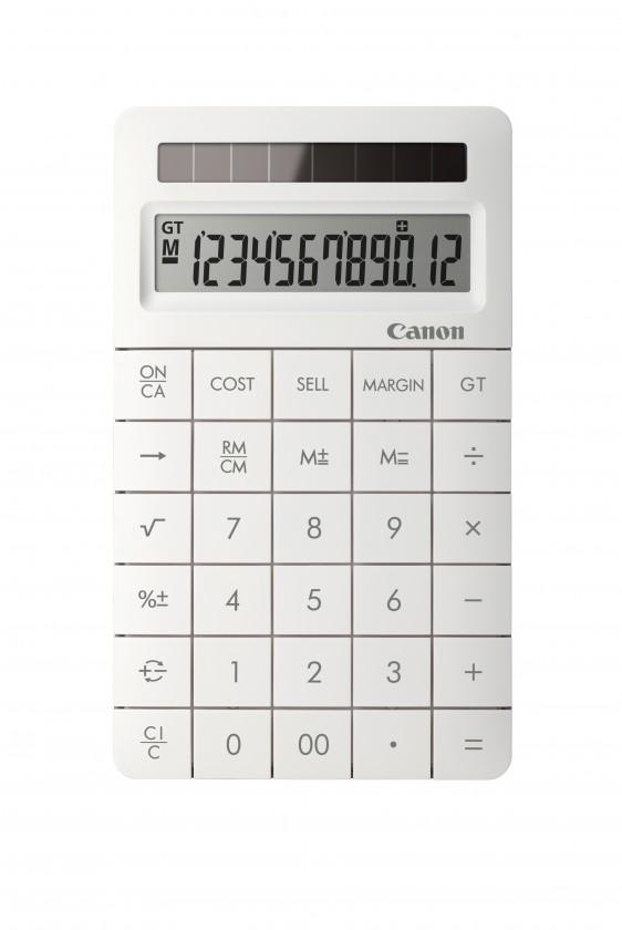 Kalkulačka Canon X Mark II, bílá
