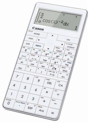Kalkulačka Canon X Mark PRO, bílá