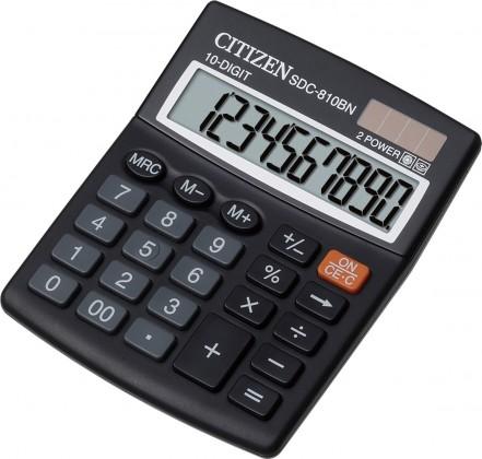 Kalkulačka Citizen SDC-810BN, černá