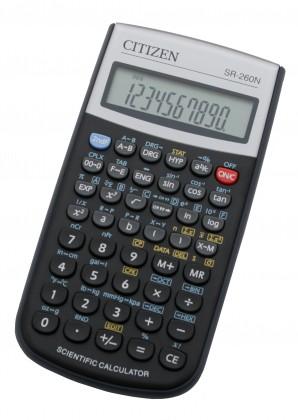 Kalkulačka Citizen SR-260N, černá