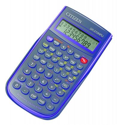 Kalkulačka Citizen SR-270N, fialová