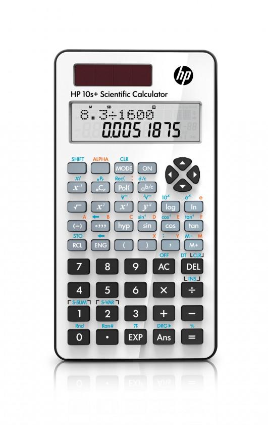 Kalkulačka HP 10s+ NW276AA, bílá