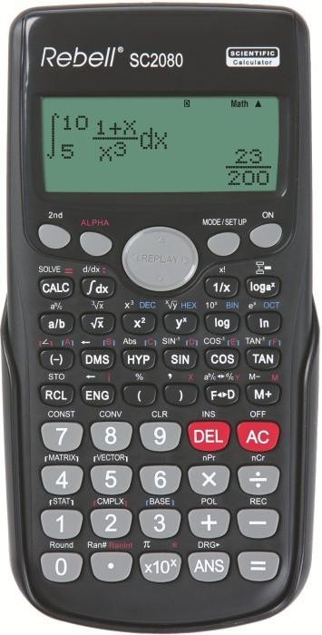 Kalkulačka REBELL SC2080 BX - black - CALC