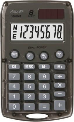 Kalkulačka Rebell StarletSBX, stříbrná