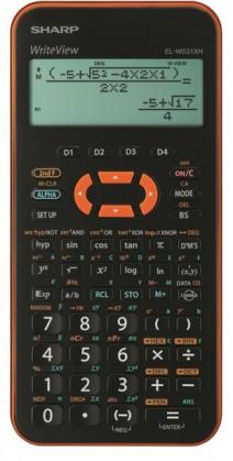 Kalkulačka SHARP ELW531XHYRC - orange - CALC